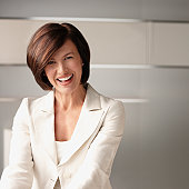 Getty Images smiling businesswoman